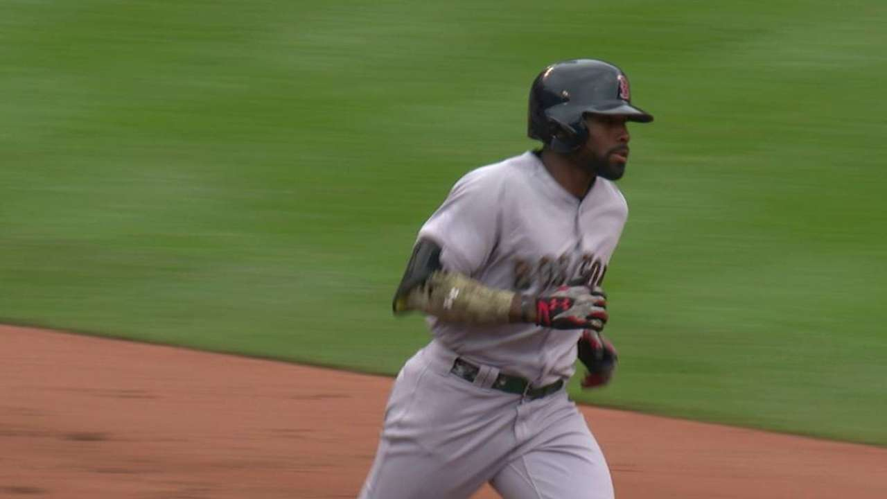 Sox place JBJ on paternity list, recall Castillo