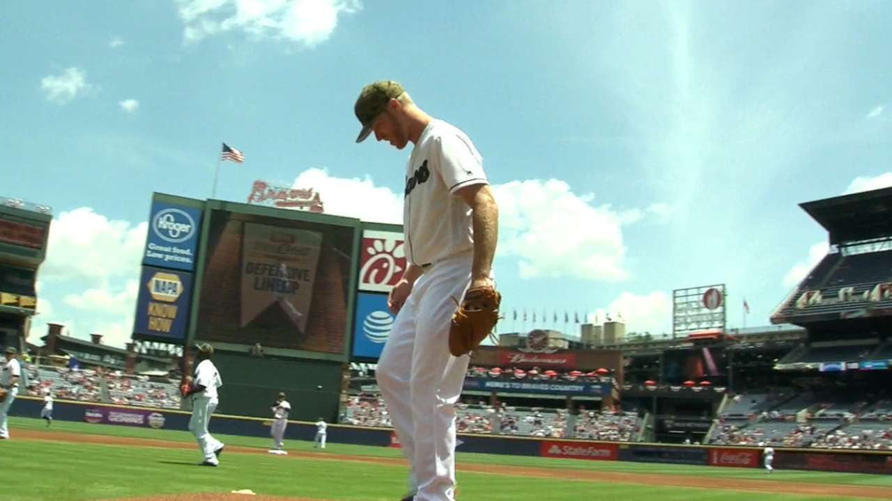 Foltynewicz lands on DL with sore right elbow