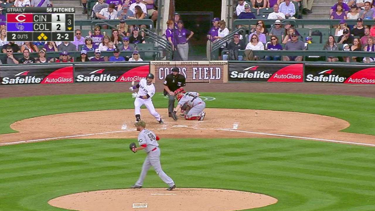 Descalso's bases-clearing double
