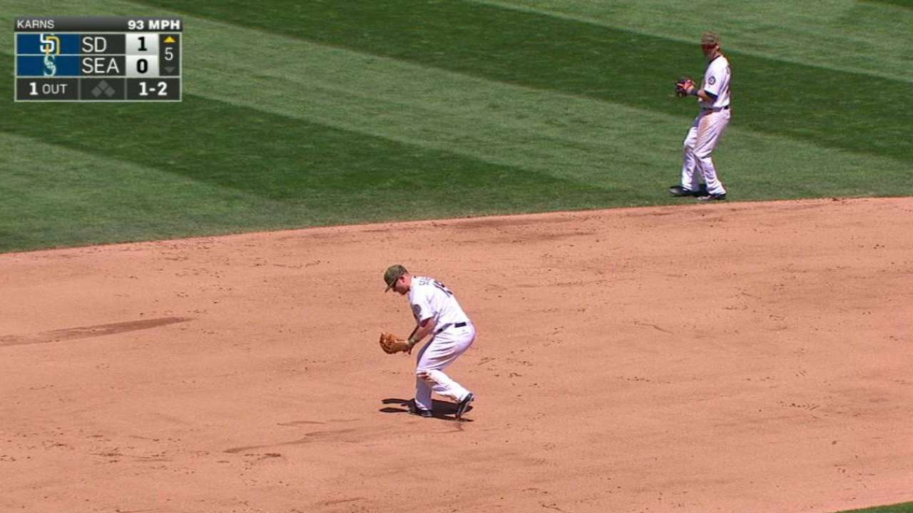 Seager grabs liner