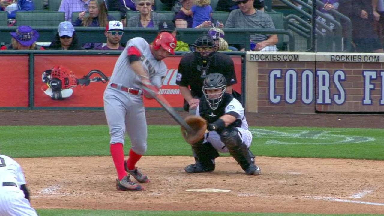 Votto's 200th career home run