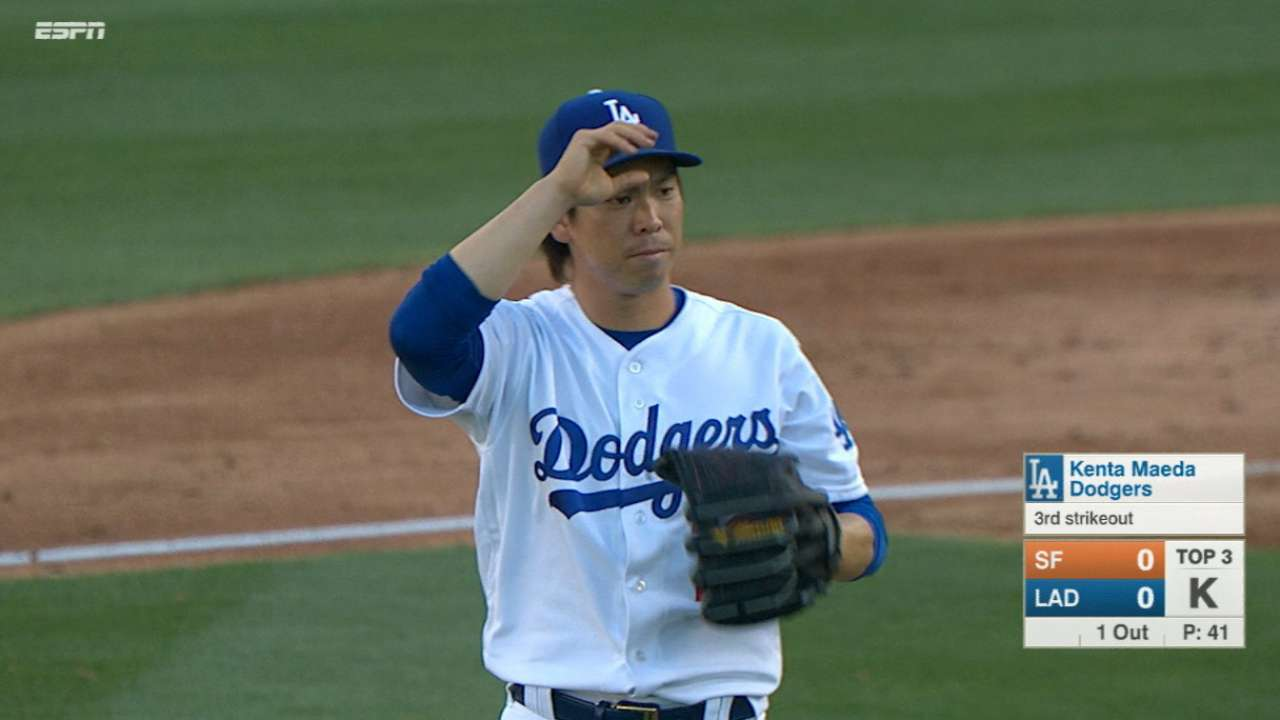 Oh Maeda! Dodger outduels Shark, sinks SF