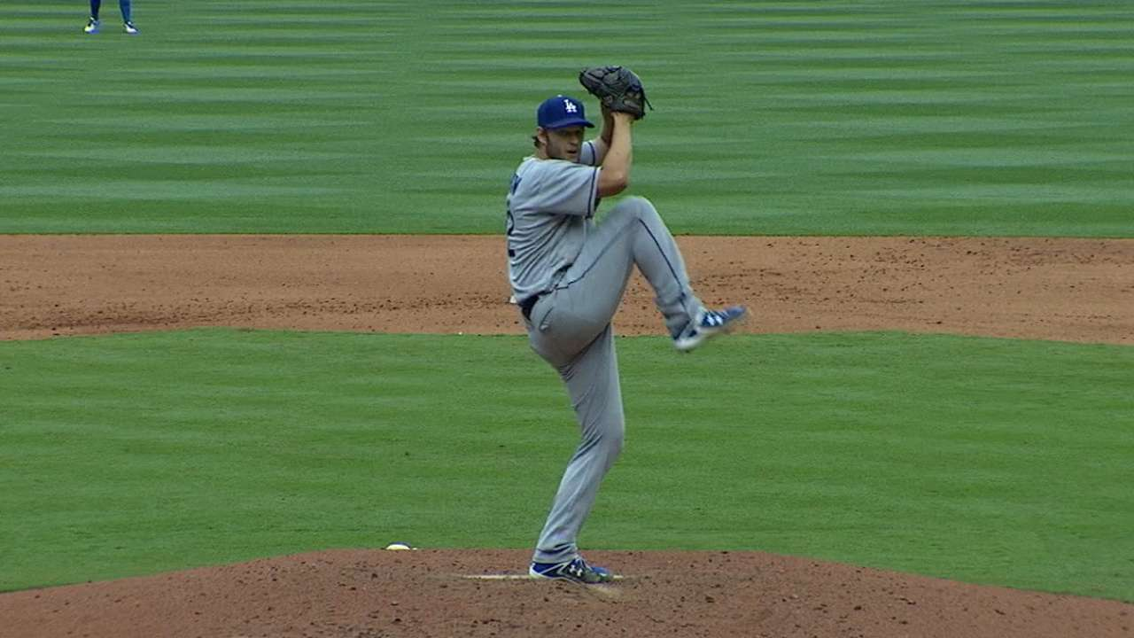 Pitching 'two games' in one, Kershaw K's 10
