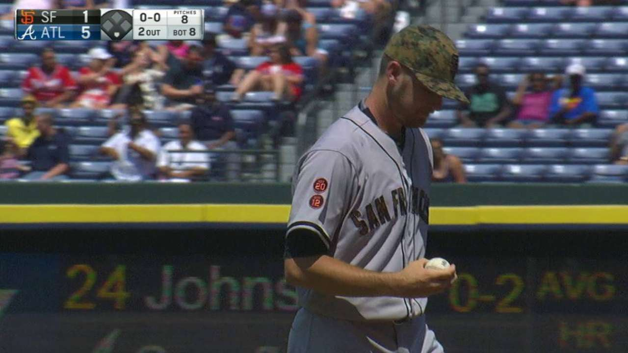 Giants pitching prospects dominate on Memorial Day