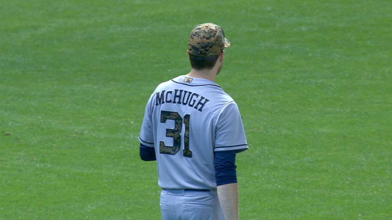 McHugh goes the distance for first career CG