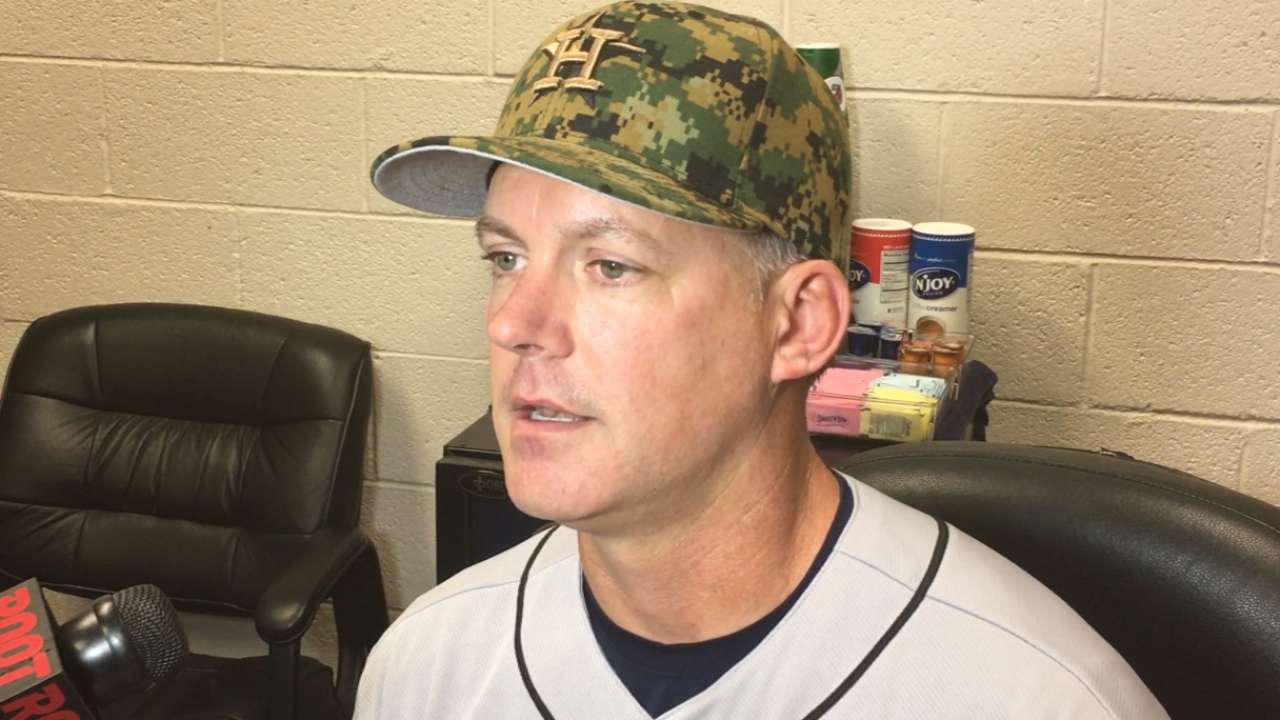 Hinch on win over D-backs