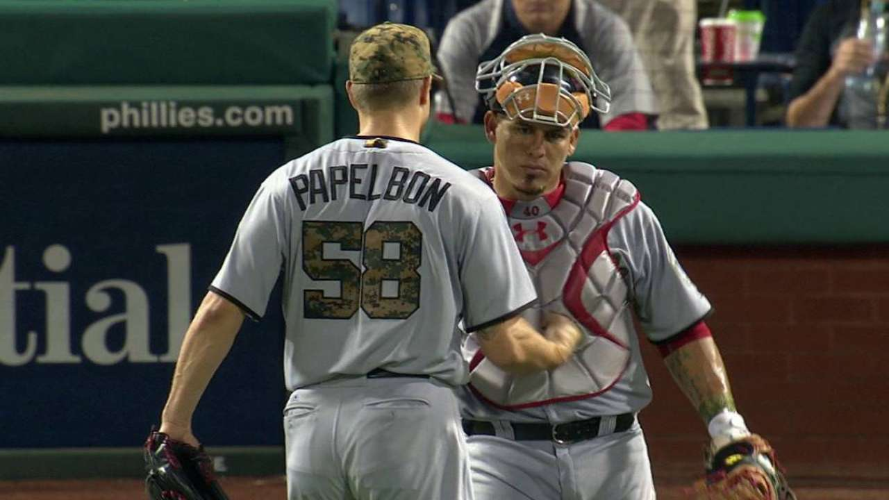 Papelbon shuts the door