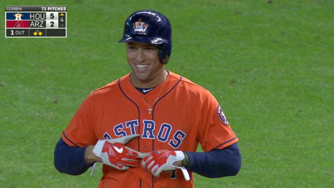 Springer adds to his RBI total