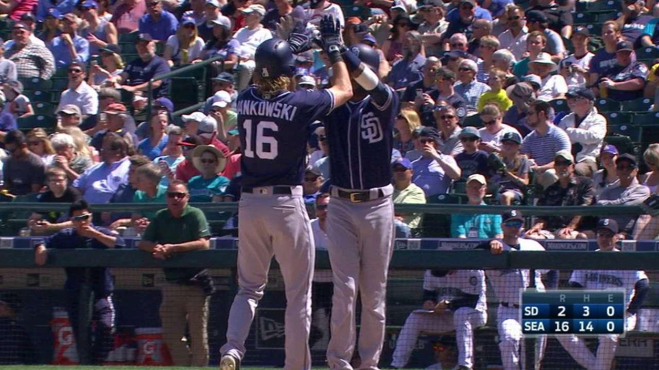 Jankowski's two-run homer