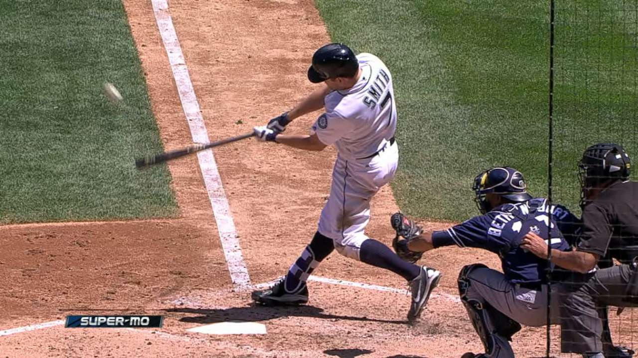 Smith's two-homer game