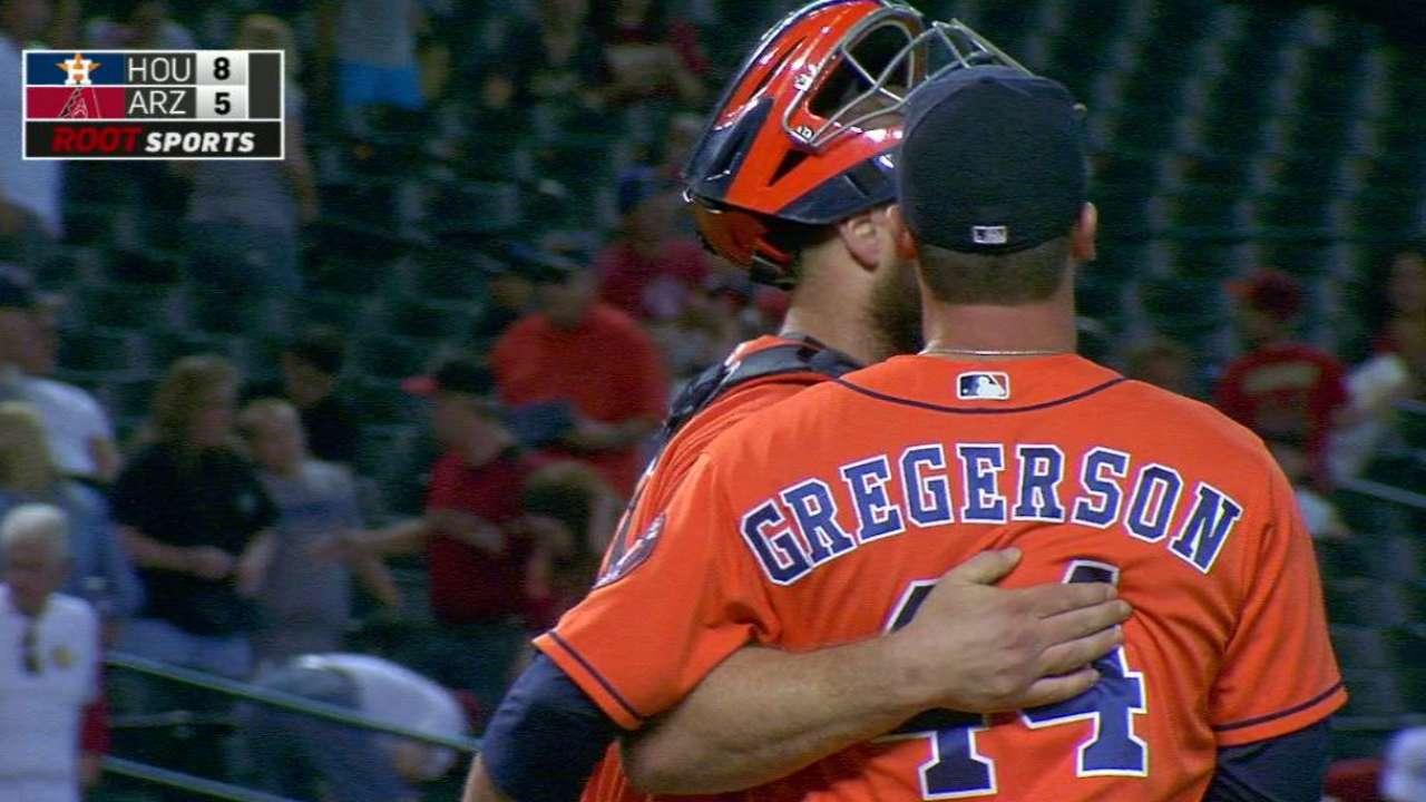 Gregerson shuts the door in win
