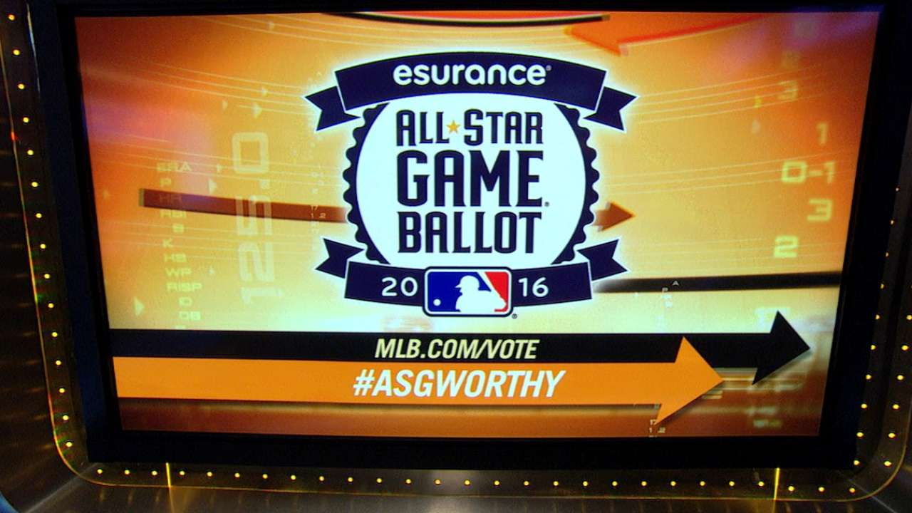 AL ASG ballot leaders unveiled
