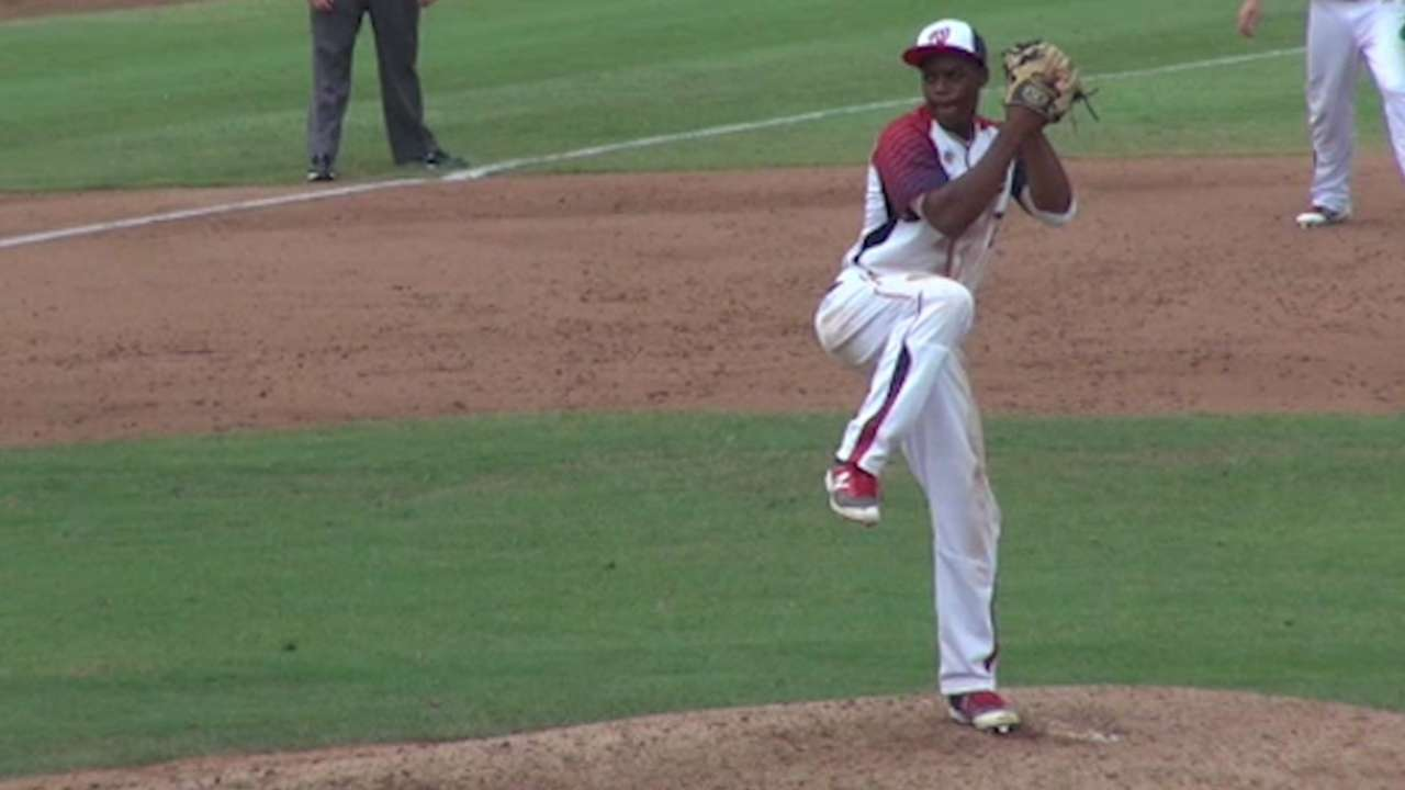 2016 Draft: Khalil Lee, LHP/OF