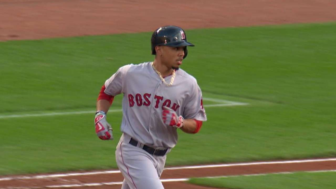 Betts' second homer of the game