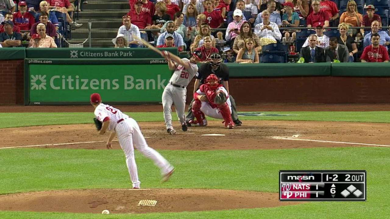 Nats back stellar Ross with four home runs