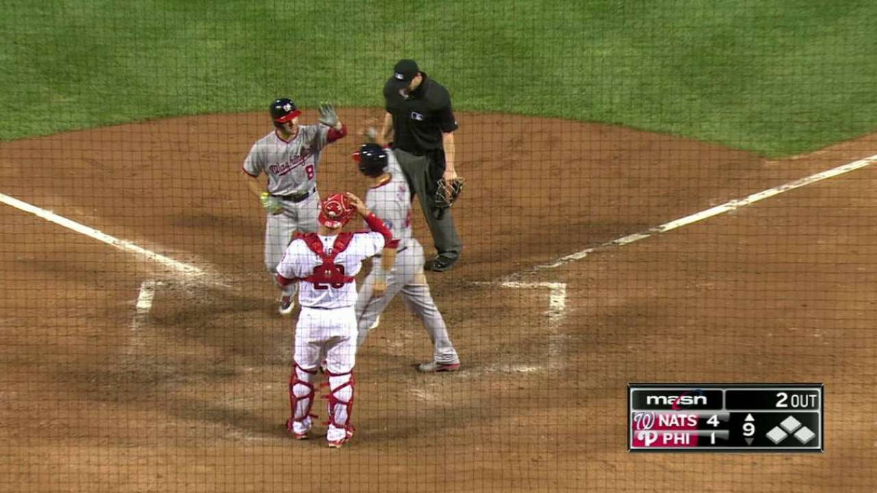 Espinosa's two-run home run