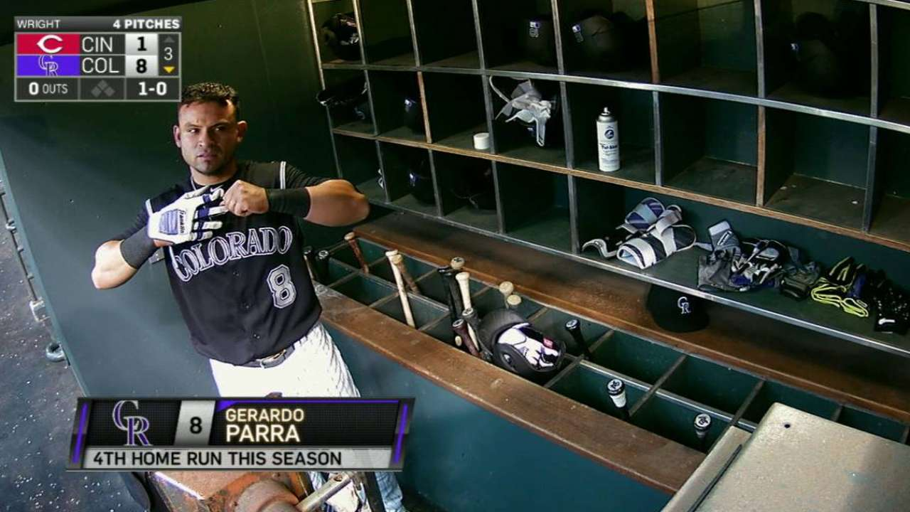 Parra lacking consistency Rockies expected