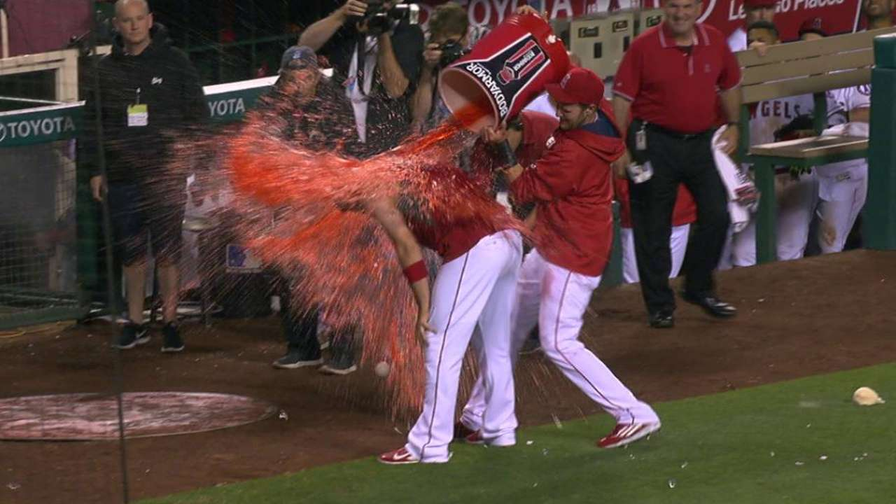 Cron gets soaked