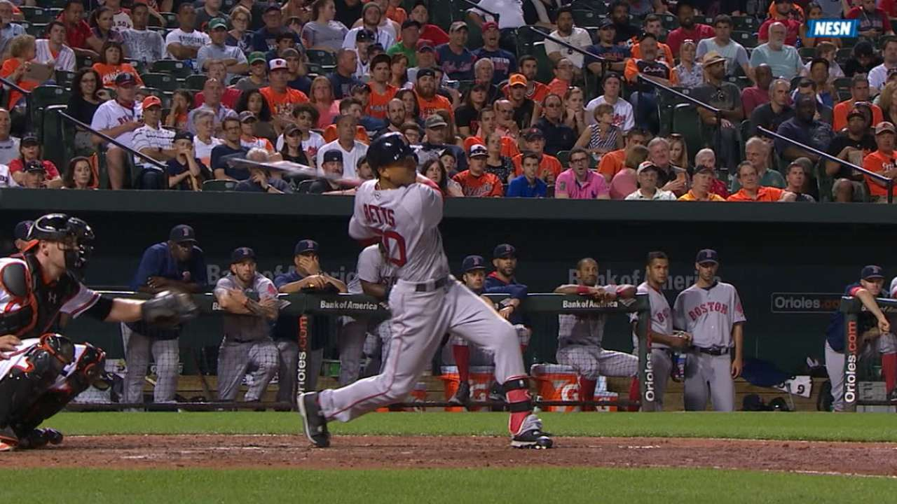 Must C: Betts hits three dingers