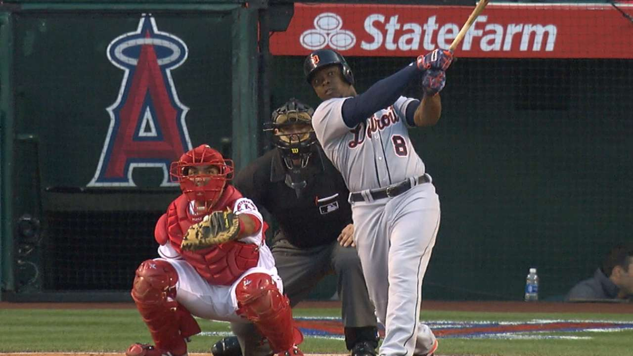 Tigers belt five homers