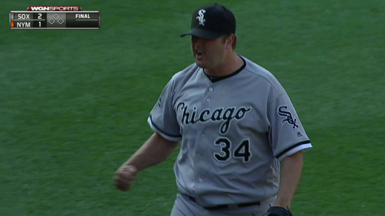 White Sox decline Albers' option, outright Shuck
