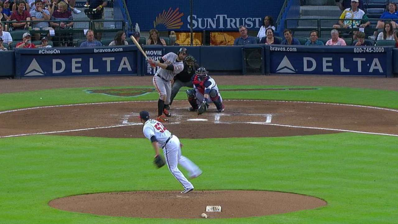 Belt's two-run homer to right
