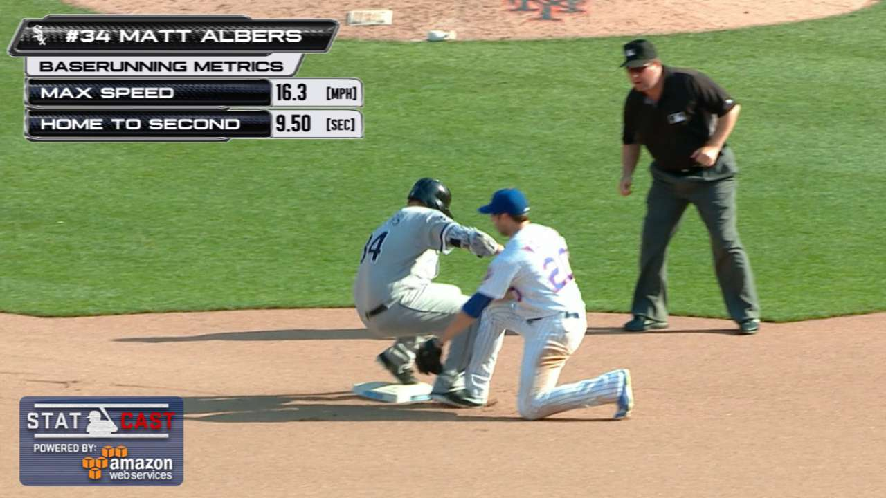 Statcast: Albers comes up clutch