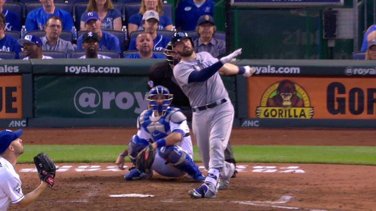 Casali starting to figure things out at the plate