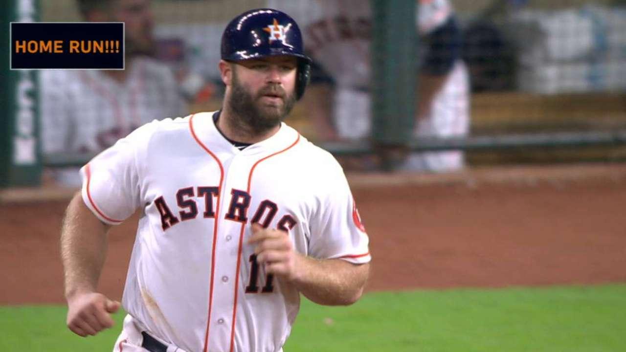 Gattis' two-run home run