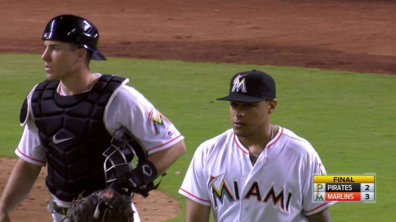 Ramos closes game for Marlins