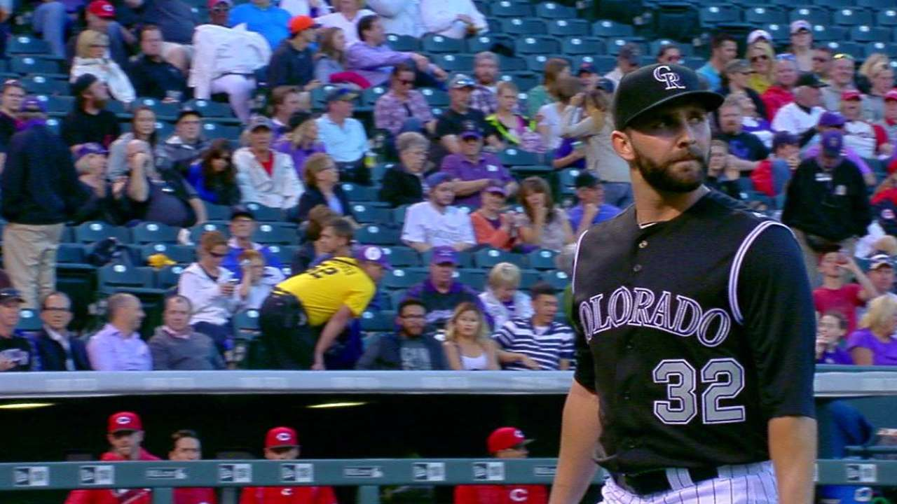 Chatwood struggles with fastball command