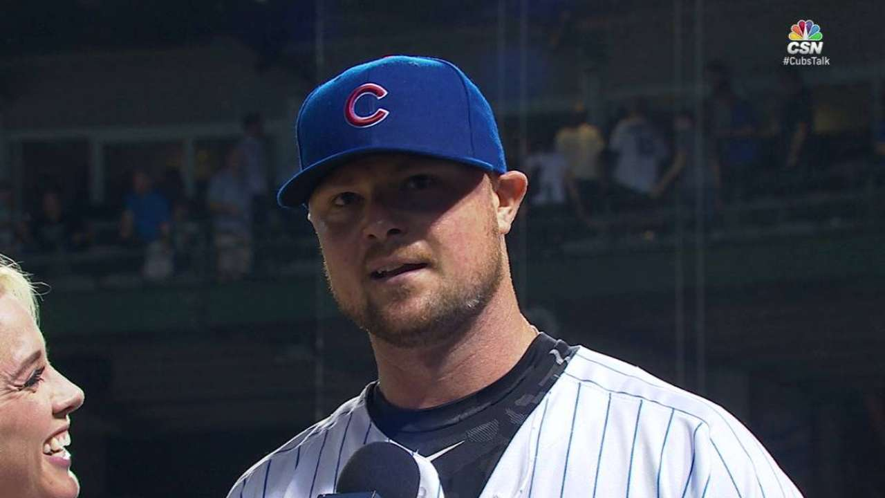 Lester talks about complete game