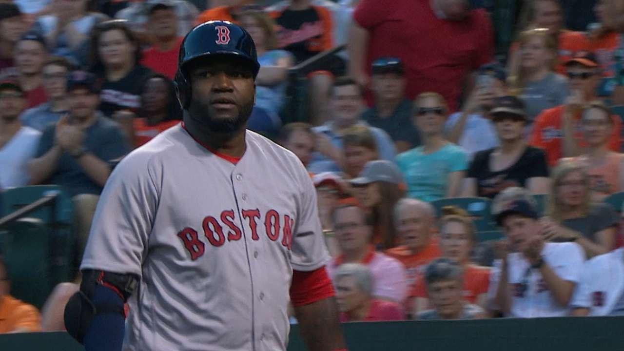 Red Sox hit five home runs