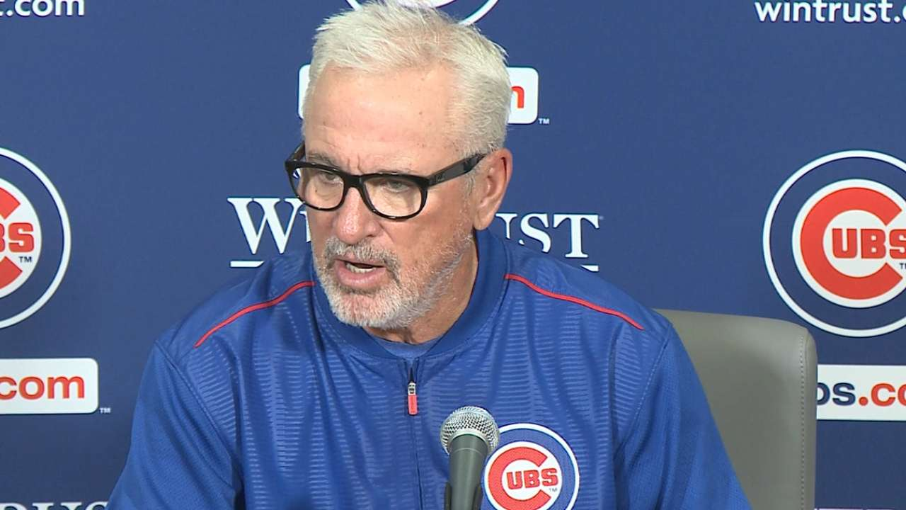 Maddon on Lester: 'The best I've seen him'