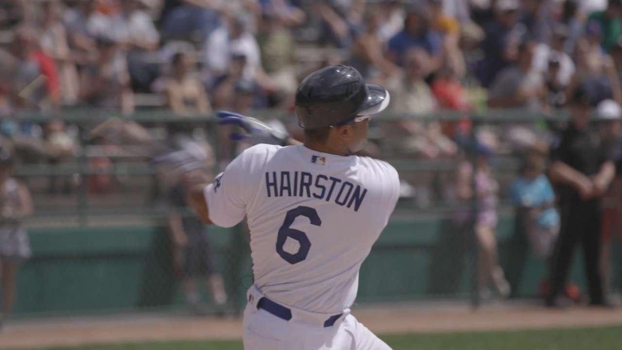 Hairston Jr. goes yard