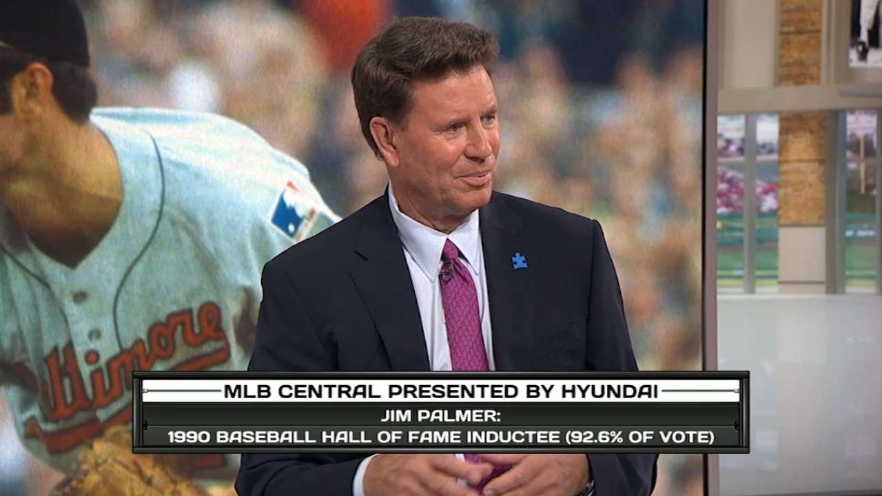 Jim Palmer on MLB Central