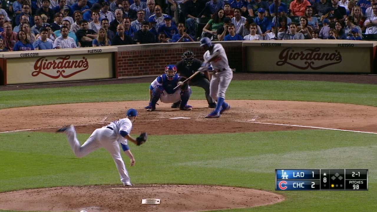 Puig pinch-hits in the 8th