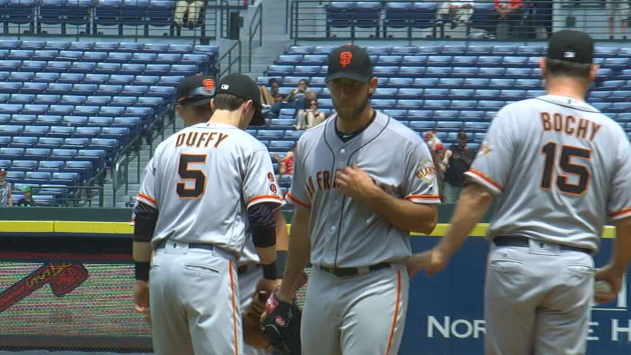 Bumgarner's 11-strikeout game