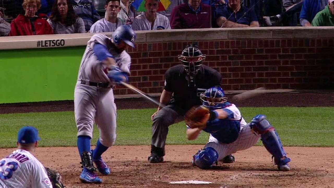 Dodgers frenan racha de Arrieta; se imponen a Cubs
