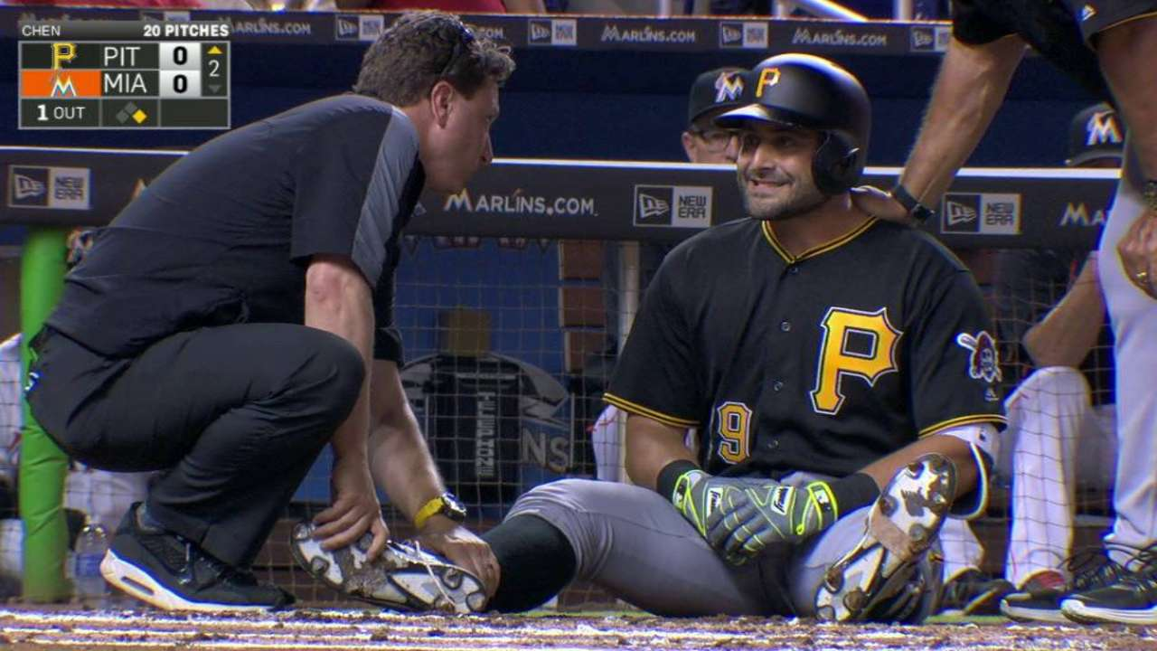 Cervelli ready for game action with foot feeling better