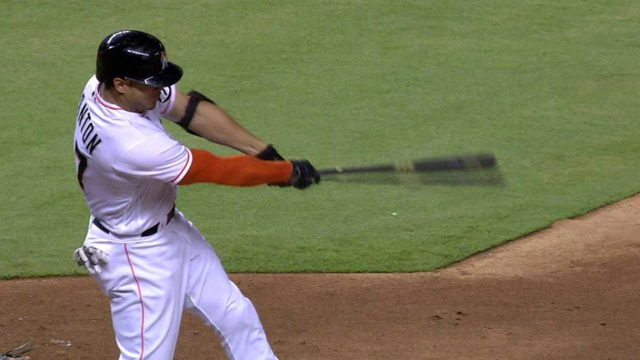 Marlins give ailing Giancarlo planned day off