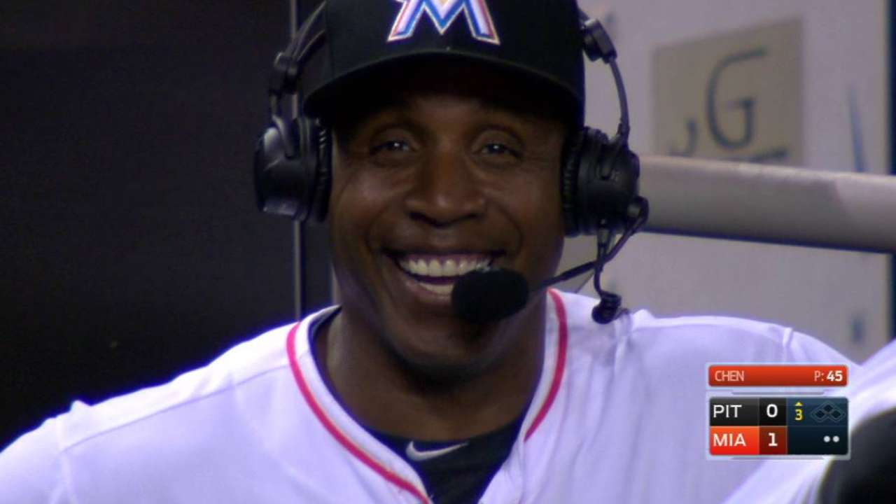 Bonds eyes encore as Marlins' hitting coach