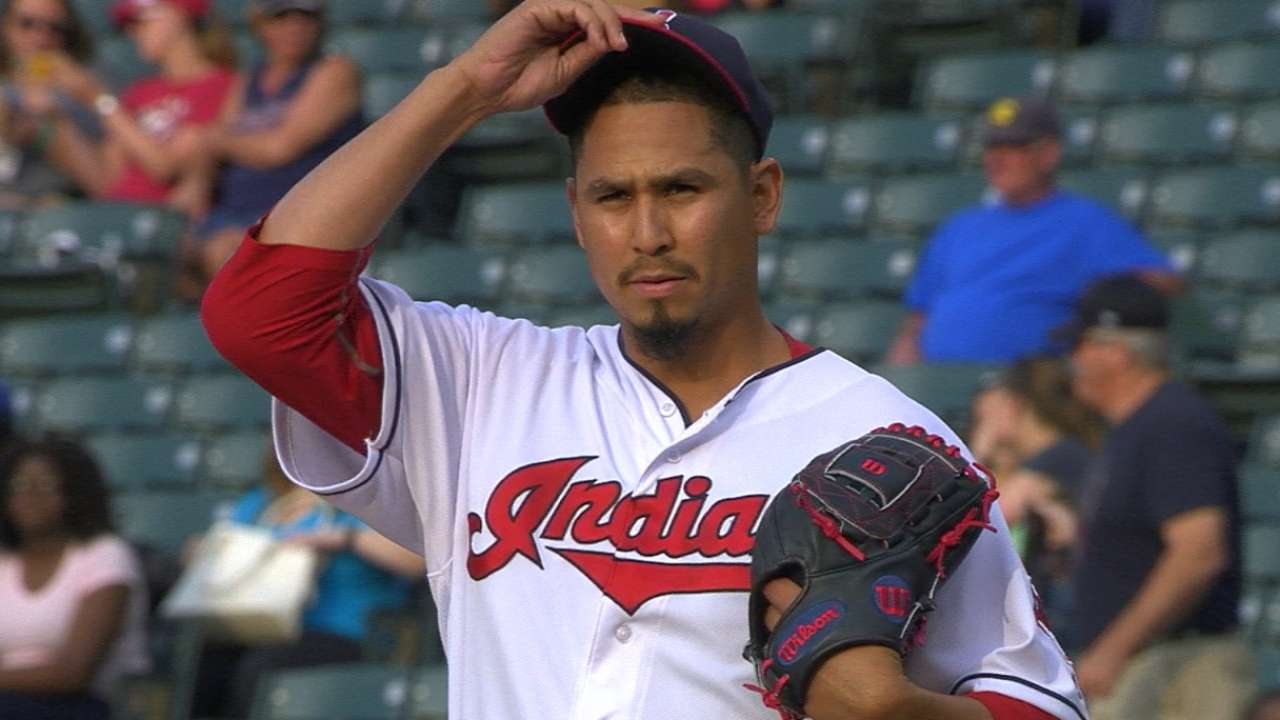 Carrasco's return from DL