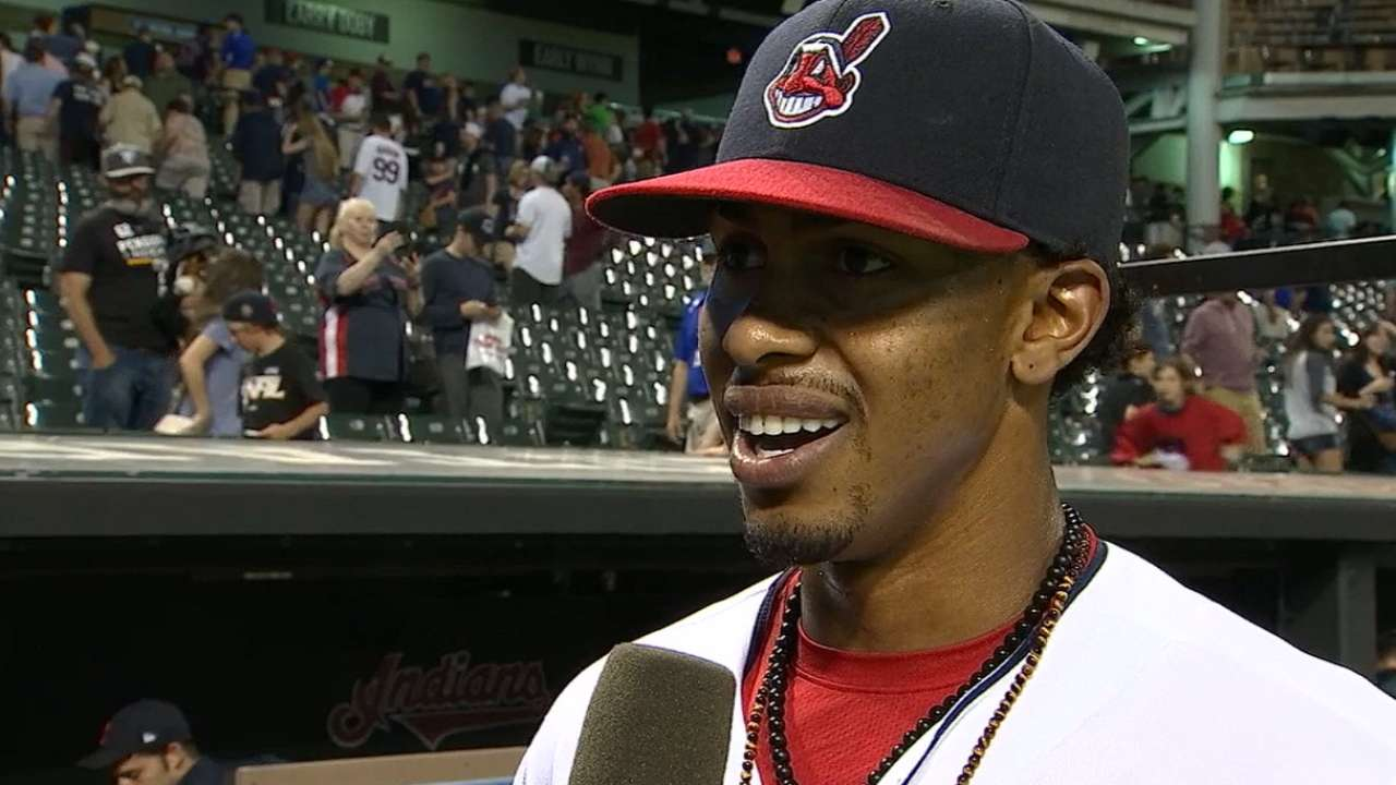 Lindor on win over Royals