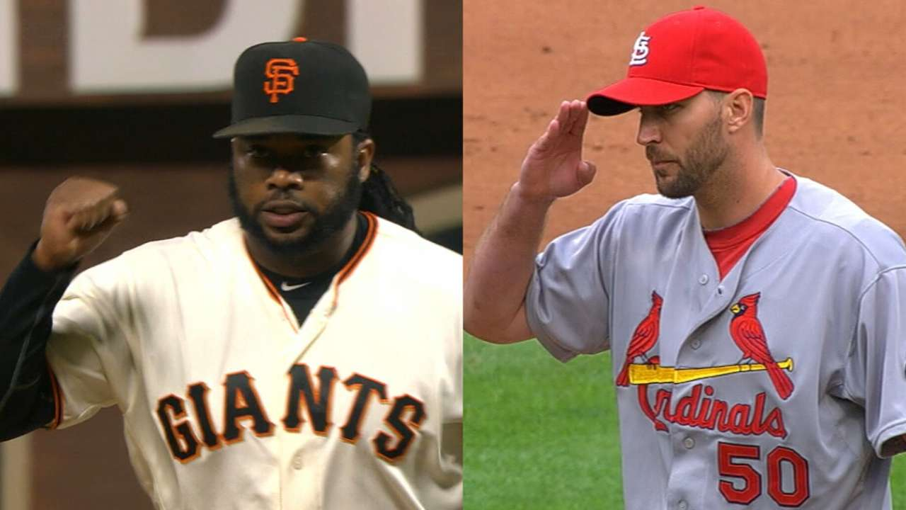 Cueto-Waino duel highlights night of aces on MLB.TV
