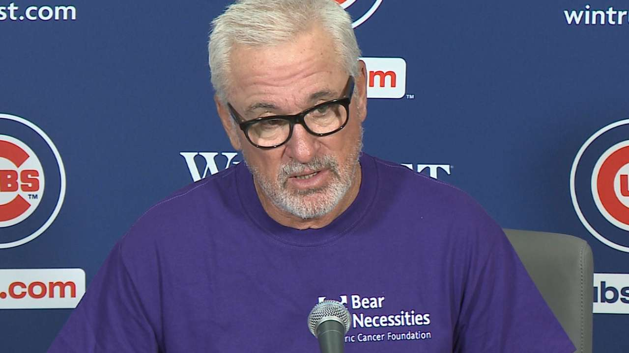 Maddon on 6-0 win over D-backs