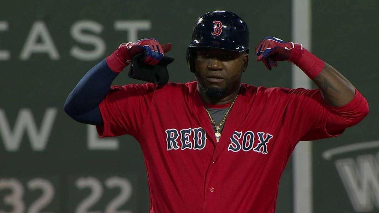 Papi breaks up no-hitter