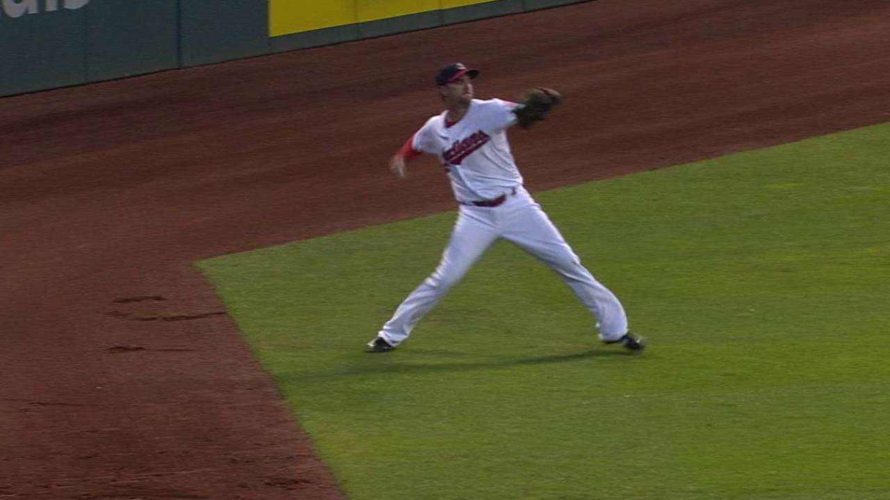 Chisenhall's strong-armed assist