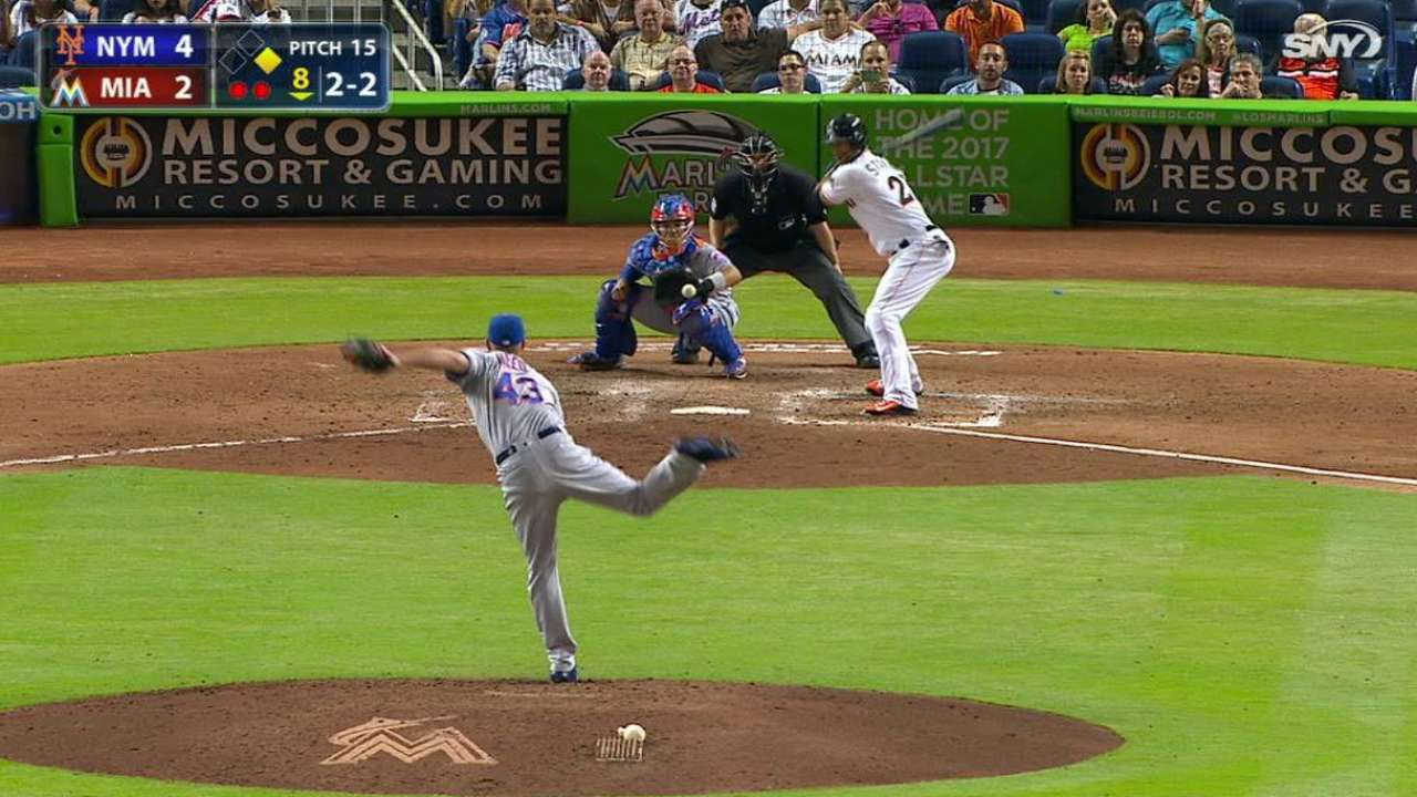 Reed strikes out Stanton