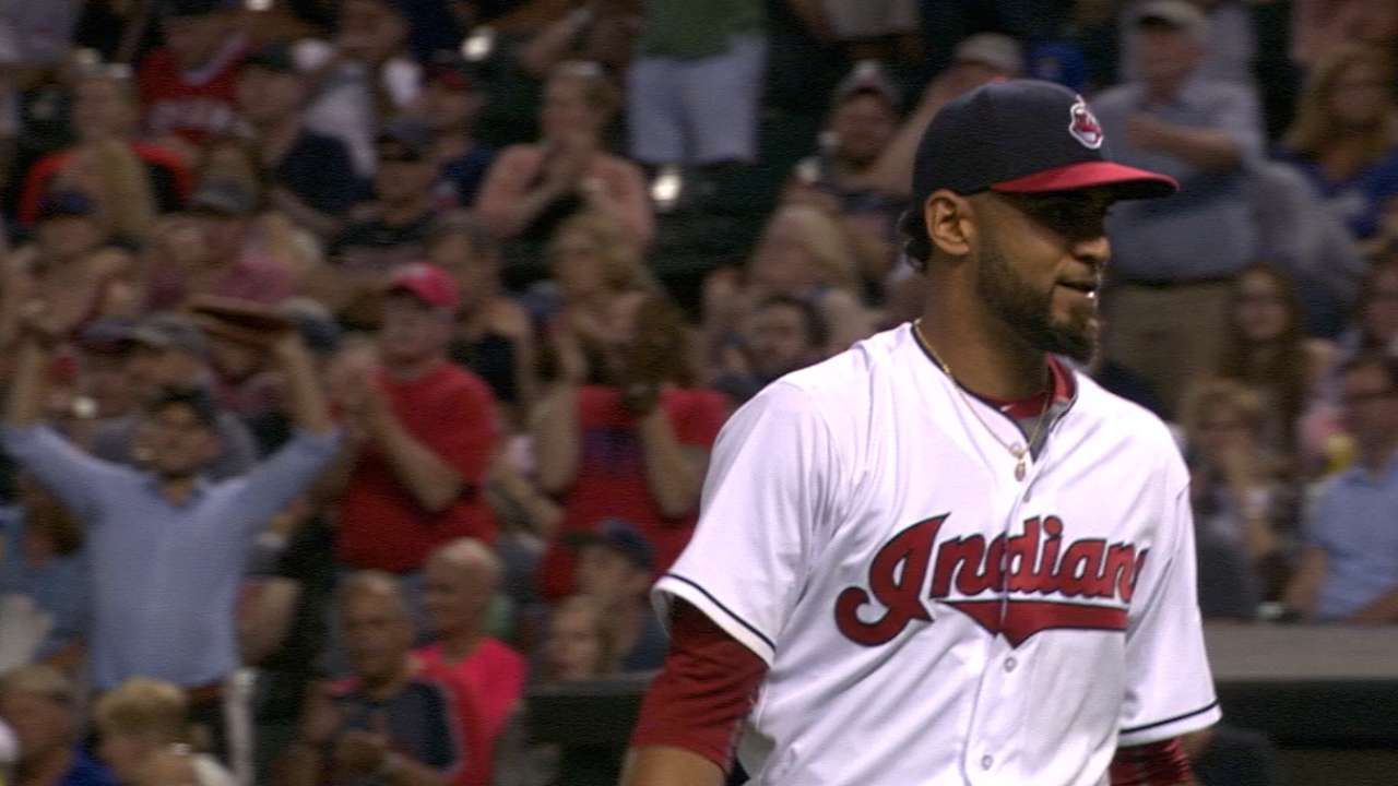 Salazar's 9 K's help Tribe stay tough on Royals